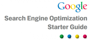 Google Search Engine Optimisation starters Guide
