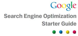 Google Search Engine Optimisation starters Guide